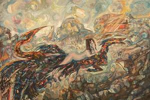 Выставка «Авангард. Русский космизм» ©Фото Сергея Юхновского