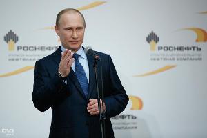 Владимир Путин на Туапсинском НПЗ ©Влад Александров, ЮГА.ру