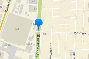©Скриншот панорамы карт «2ГИС»