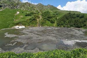 Озеро Малое ©Фото пресс-службы Кавказского заповедника