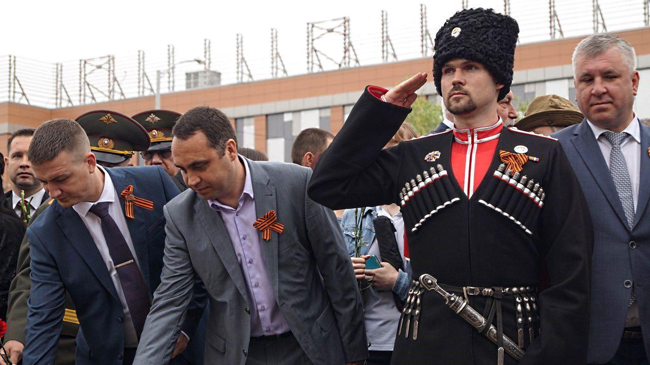 Александр Агибалов — потомственный кубанский казак, переехавший в 2020 году на Сахалин ©Фото предоставлено А. Агибаловым