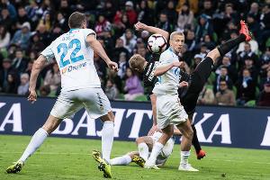 Матч «Краснодар» — «Зенит», Краснодар, 20 апреля 2019 года ©Фото Елены Синеок, Юга.ру