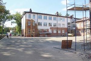 Фасад гимназии №69 ©Фото пресс-службы администрации Краснодара