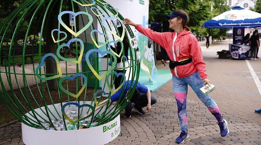 «Зеленый марафон» в Краснодаре ©Фото пресс-службы Сбера