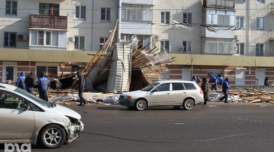 Ураган в Новороссийске ©Фото Юга.ру