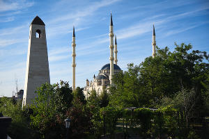 Грозный - столица Республики Чечня ©Фото Елены Синеок, Юга.ру