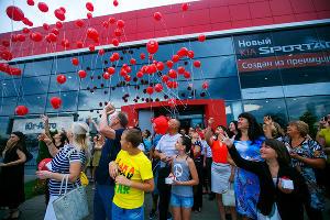 Открытие нового дилерского центра KIA в Юг-Авто ©Фото Юга.ру