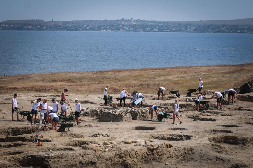 Тамань, археологические раскопки в Фанагории ©Фото Елены Синеок, Юга.ру