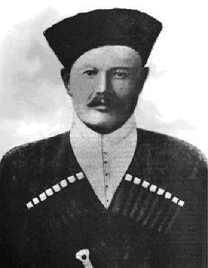 Николай Рябовол, председатель Кубанской законодательной рады с 1917 по 1919 год