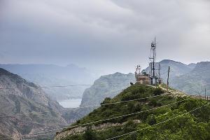 "Телеком-экспедиция ""МегаФон на высоте"" в Унцукуле ©Фото Юга.ру"