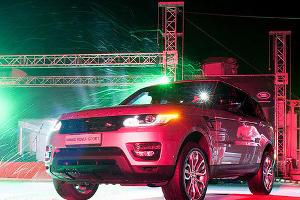 Презентация нового внедорожника Range Rover Sport в Краснодаре ©Алёна Живцова, ЮГА.ру