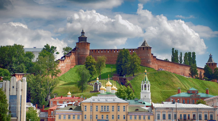 г. Нижний Новгород, Кремль ©Фото Кривошеиной Марии с сайта  commons.wikimedia.org