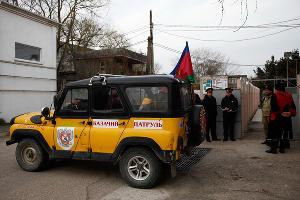 Развод казаков в Керчи ©Влад Александров, ЮГА.ру