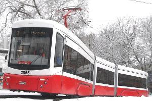 Трамвайный вагон «71-405» ©Фото пресс-службы Уральского завода транспортного машиностроения
