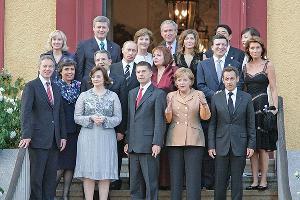 Владимир Путин и Людмила Путина (в центре) ©svoboda.org
