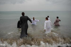 Крещение Господне в Сочи ©Фото Нины Зотиной, Юга.ру