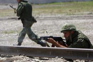 Учения водолазов железнодорожных войск ©Влад Александров, ЮГА.ру