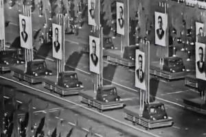 Празднование годовщины Октябрьской революции, Москва, 7 ноября 1967 года ©Кадр из видео канала History VA на youtube.com