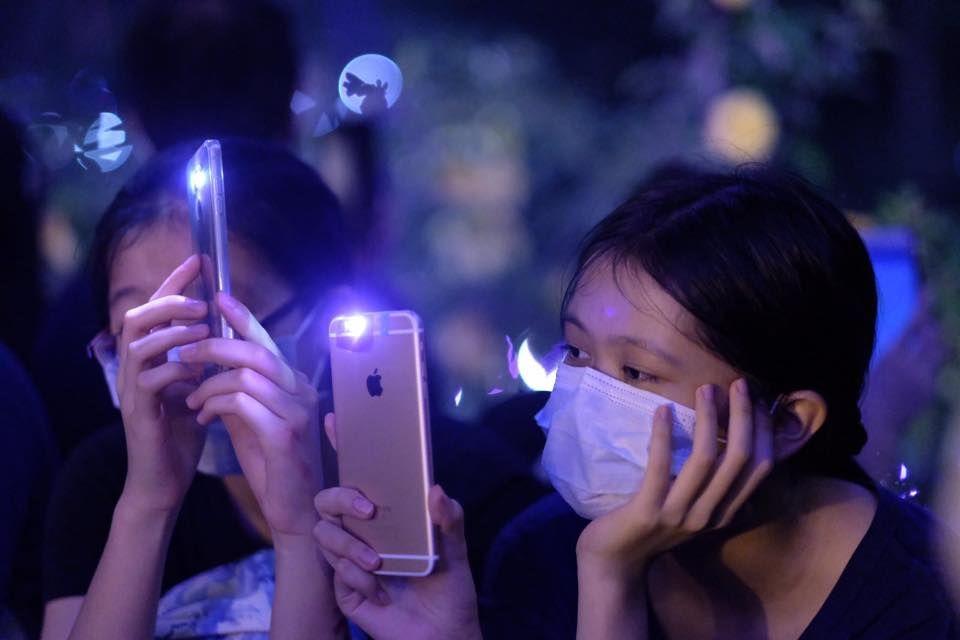 Участники уличных протестов в Гонконге ©commons.wikimedia.org