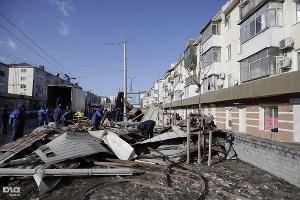 Ликвидация последствий урагана в Новороссийске ©Влад Александров. ЮГА.ру