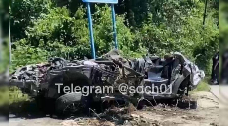 ©Скриншот видео из телеграм-канала Сочи №1, t.me/soch01