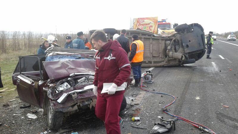 Семья из 3-х человек погибла вДТП наСтаврополье