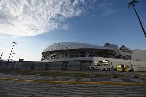 Стадион «Фишт», Сочи ©Фото Елены Синеок, Юга.ру
