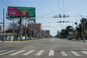 Краснодар, перекресток улиц Северной и Тургенева ©Фото Евгения Мельченко, Юга.ру