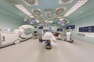 Гибридная операционная медицинского центра «Анадолу» ©Изображение пресс-службы медицинского центра «Анадолу»