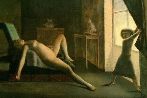 Картина Бальтюса «Комната» (1952-1954) ©Фото с сайта flickr.com