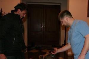 Рамзан Кадыров и медвежонок ©http://instagram.com/alihan777/