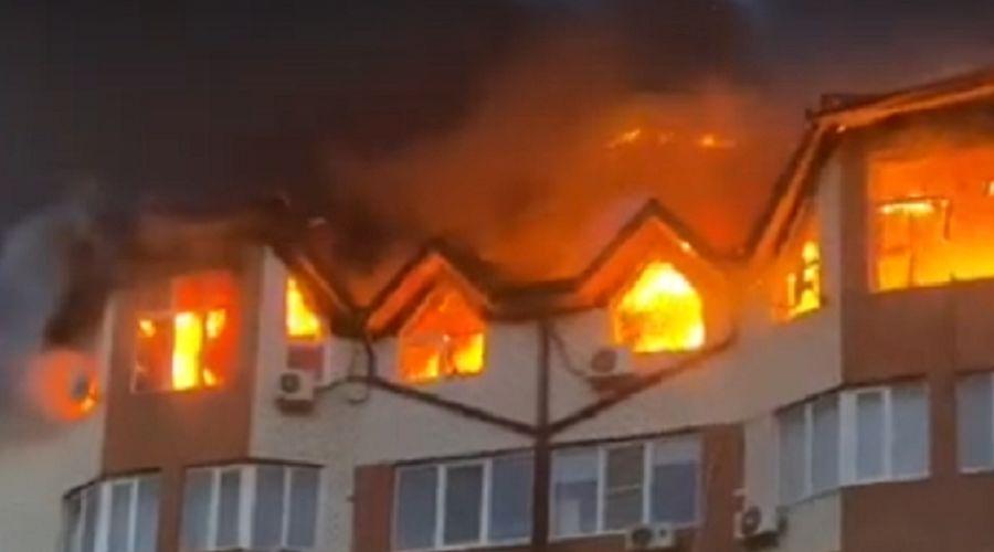 ©Скриншот из видео, предоставленного Юга.ру очевидцами