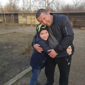 Егор Есаян с отцом