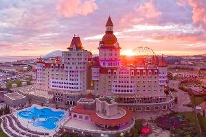 Отель-замок «Богатырь» ©Фото пресс-службы «Сочи Парка»