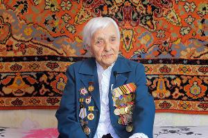 Валентина Ануфриевна Чумаченко, ветеран ВОВ ©Скриншот из видео онлайн-проекта «Ростелекома» «Говорят ветераны»