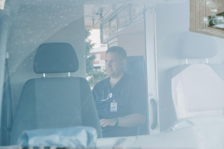 Заведующий отделением СМП Клиники Екатерининская Дмитрий Дурнев ©Фото Евгения Уварова, Юга.ру