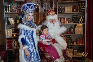 Открытие вершины Деда Мороза в Сочи  ©Нина Зотина, ЮГА.ру