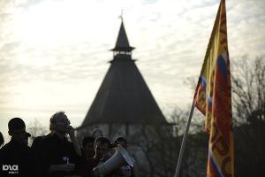 Митинг сторонников Олега Шеина в Астрахани ©Михаил Мордасов. ЮГА.ру