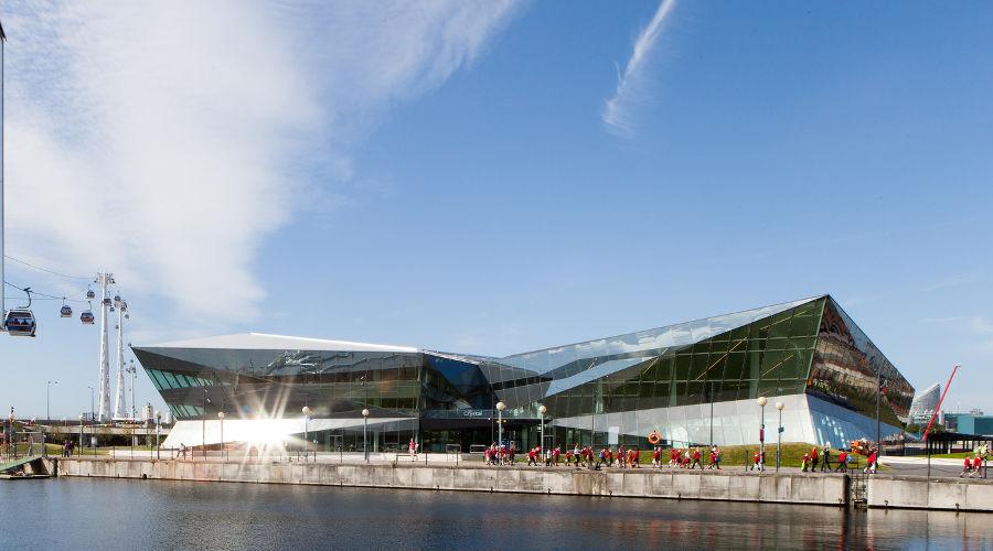 Одно из самых энергоэффективных зданий в мире The Crystal London ©Фото предоставлено пресс-службой The Crystal London
