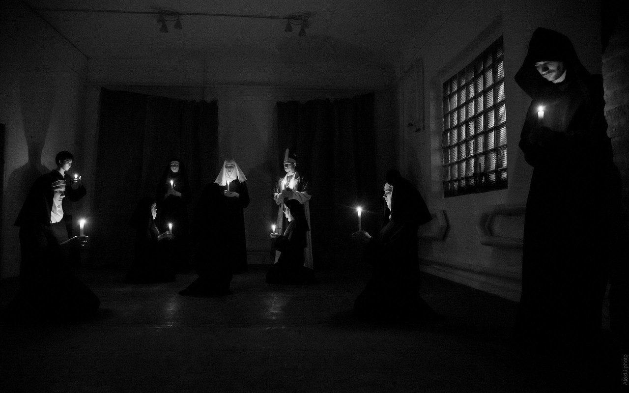 Спектакль в театре «Люди-Игры» ©Фото Алексея Лишуты