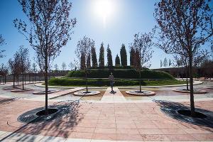 Открытие парка у стадиона ФК «Краснодар» ©Фото Елены Синеок, Юга.ру