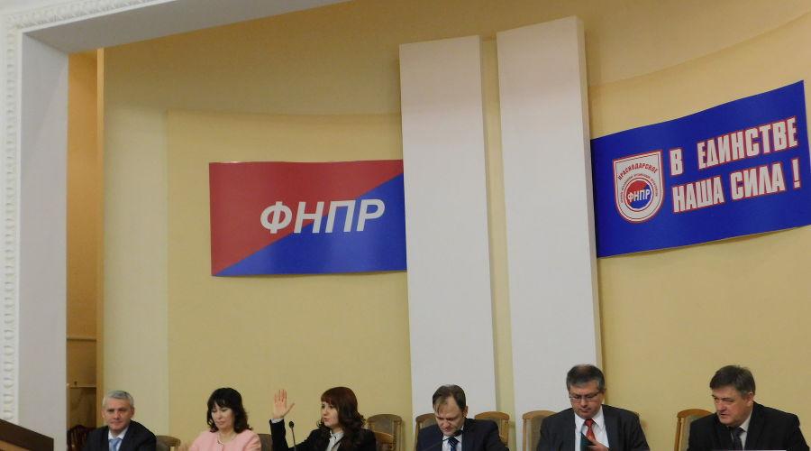©Фото пресс-службы Краснодарского краевого объединения профсоюзов