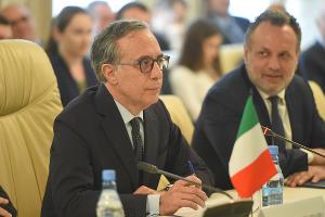 Посол Италии в России Паскуале Терраччиано ©Фото пресс-службы главы Республики Адыгея