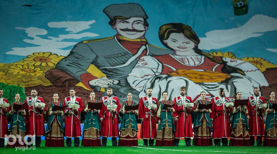 Открытие обновленного стадиона «Фишт» в Сочи ©Фото Евгения Резника, Юга.ру