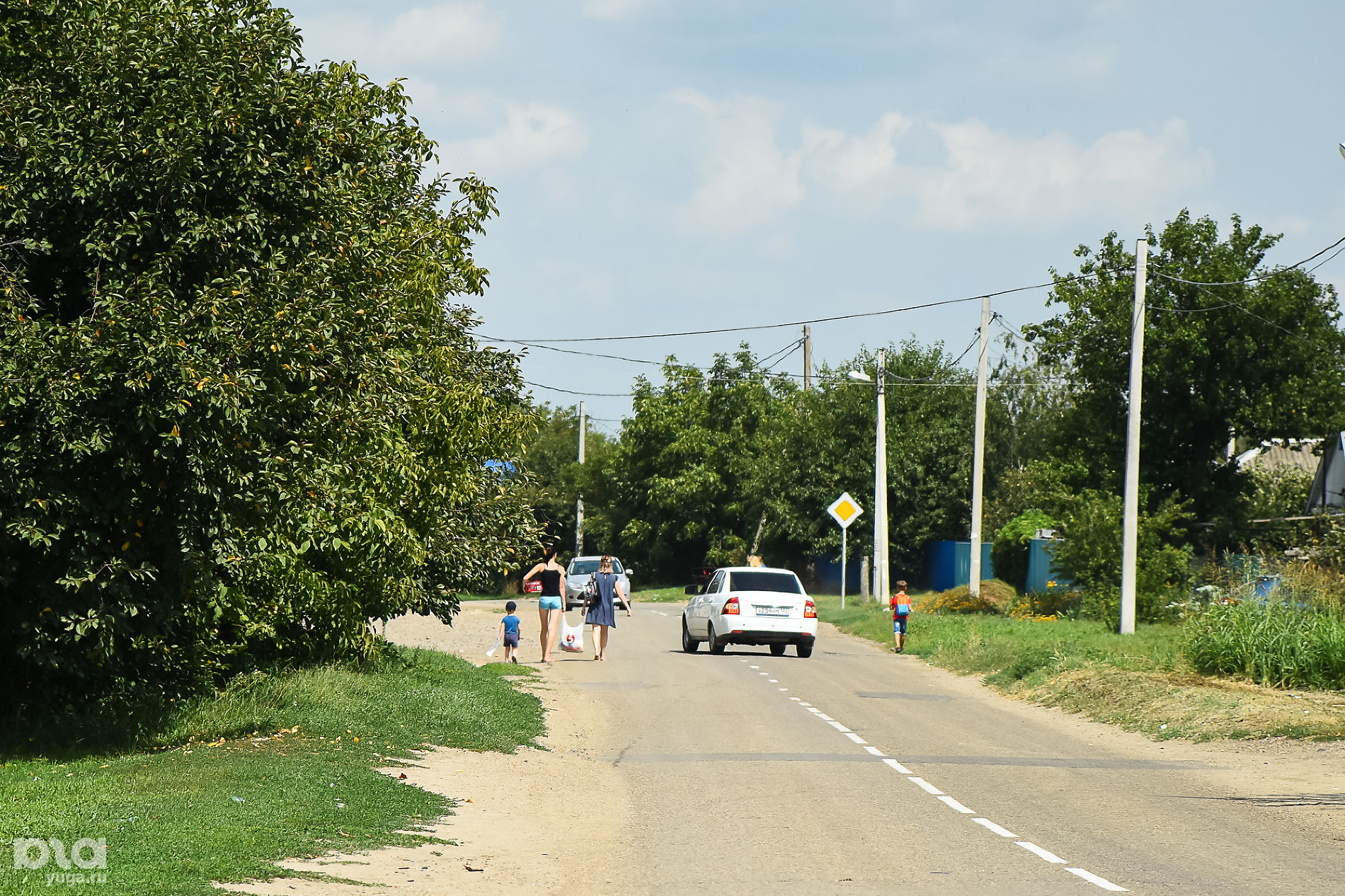 Станица Ладожская ©Фото Елены Синеок, Юга.ру