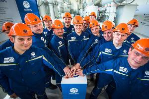 Запуск электроподстанции «Порт» в Тамани ©Фото Елены Синеок, Юга.ру