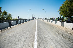 Яблоновский мост открыли после ремонта ©Фото Елены Синеок, Юга.ру