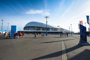 Чемпионат мира по футболу в Сочи. Стадион «Фишт» ©Фото Елены Синеок, Юга.ру