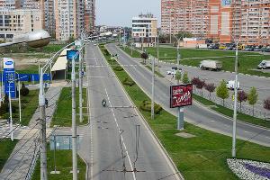Краснодар, Проспект Чекистов ©Фото Евгения Мельченко, Юга.ру
