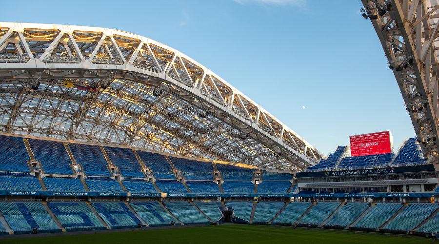 Киберучения на стадионе «Фишт» ©Фото предоставлено пресс-службой «Ростелекома»